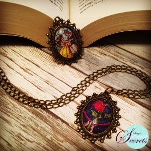 Final Beauty and the beast pendant