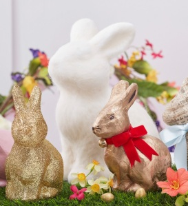Hobbycraft decorated rabbits