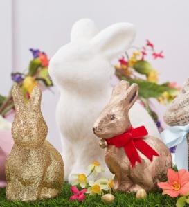 Hobbycraft decorated rabbits