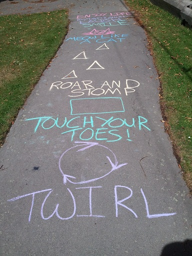 Creative hopscotch