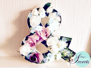 How to: Letter flower crafts