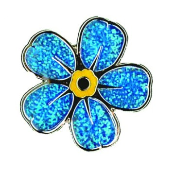Charity pin badge