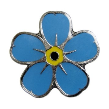 Charity pin badge