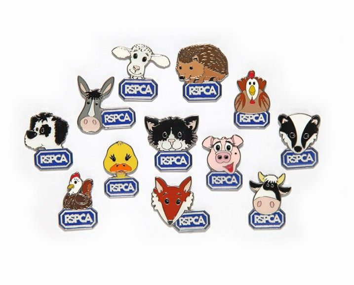 RSPCA Badges for wedding badges