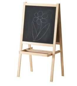 Childrens blackboard easel